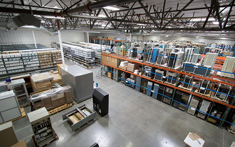 Warehouse management - thinking about efficiency